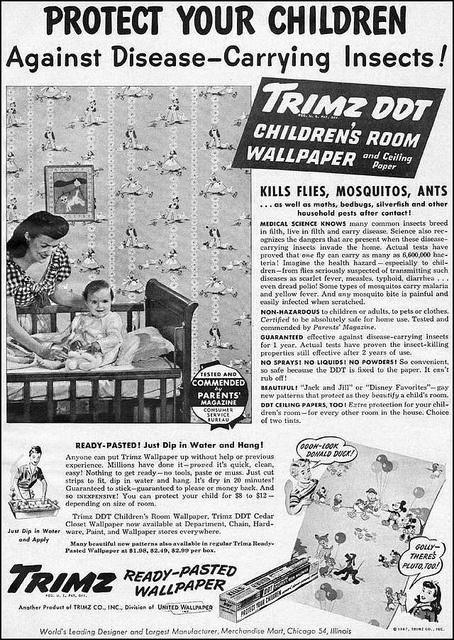Disney DDT Wallpaper (1947)