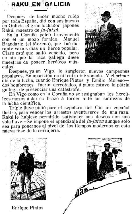 Vida Gallega, enero 1909