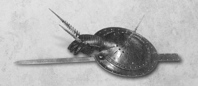 Escudo con linterna | Art of Swords
