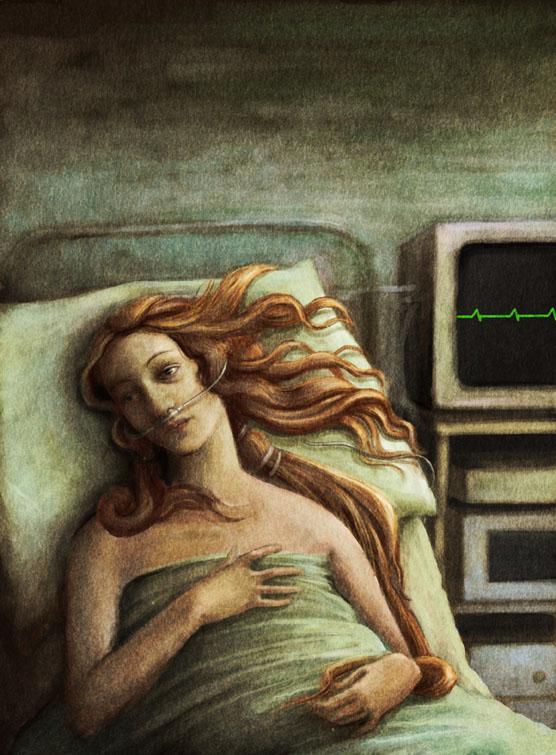 Ilustración de Emilia Dziubak