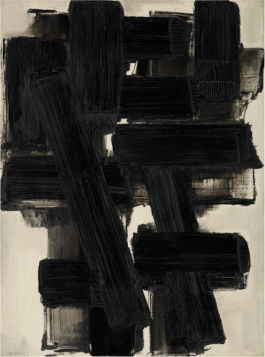 Pierre Soulages. Via Así es la vida