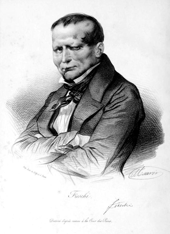 Giuseppe Marco Fieschi. Via Wikipedia