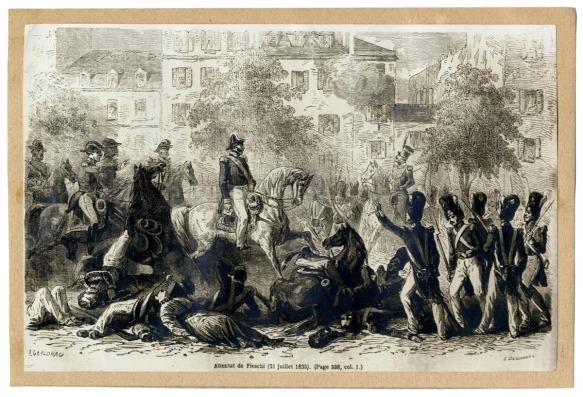 Via Les représentations iconographiques de l'attentat politique au XIXe siècle