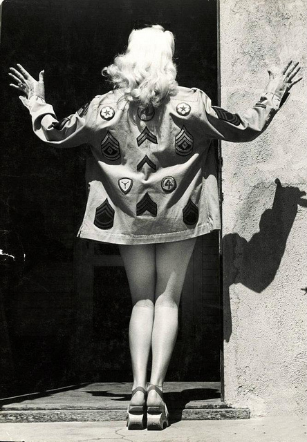 Betty Grable. Via Retrogasm