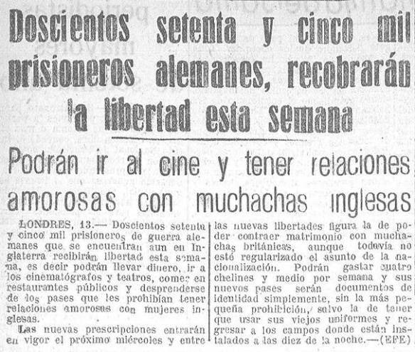 Hoja Oficial del Lunes (edición de Coruña), 14 de julio de 1947.