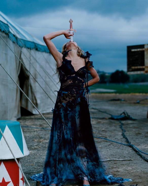 Cameron Diaz fotografiada por Annie Leibovitz. Via