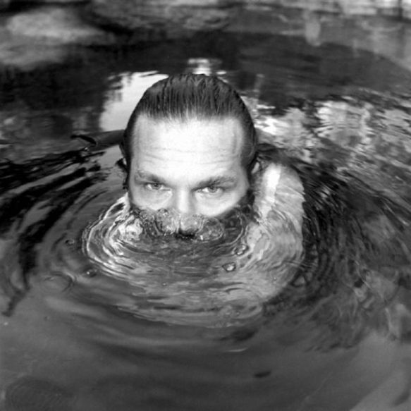 Jeff Bridges en el set of American Heart, fotografía de Mary Ellen Mark. Via