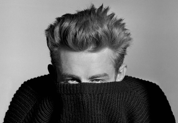 James Dean fotografia de Phil Stern. Via