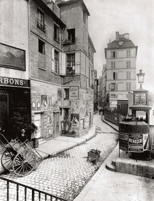 Eugène Atget - Paris. Via