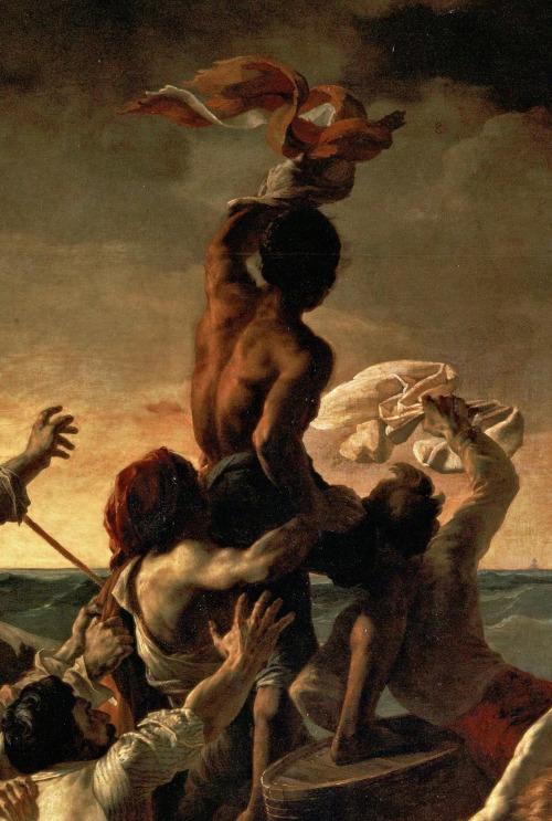 La balsa de la Medusa (fragmento). Via