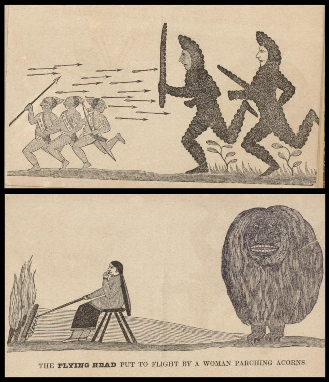 David Cusick, Sketches of Ancient History of the Six Nations, 1828. Via