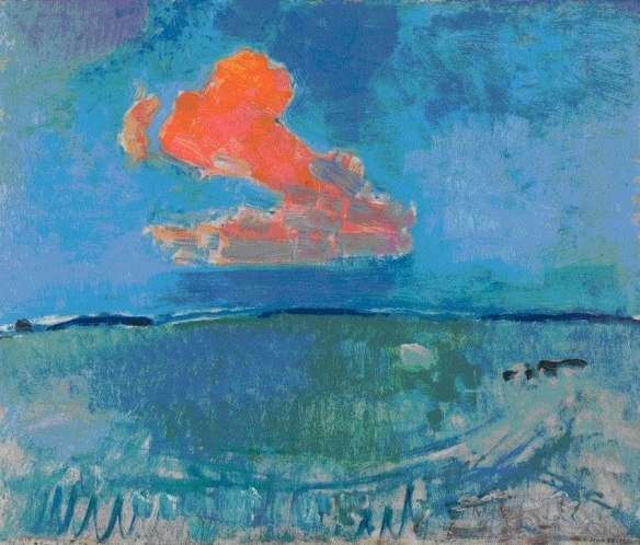 The Red Cloud, 1907 - Piet Mondrian