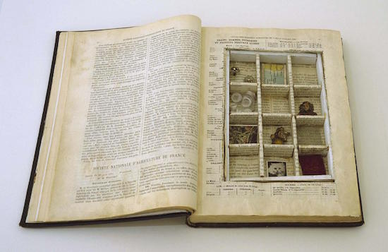 Joseph Cornell, Untitled (To Marguerite Blachas), c. 1939-40. Via