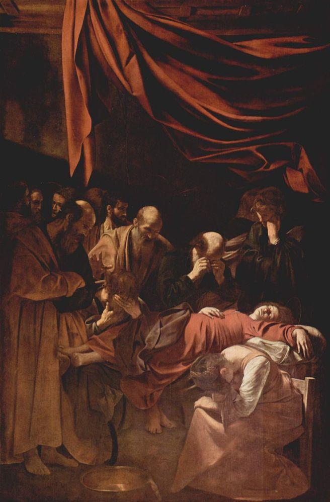 Muerte de la Virgen - Caravaggio | Polémica sobre el cuadro