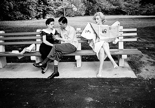 The Proposal - Sam Shaw | Central Park, New York, 1957