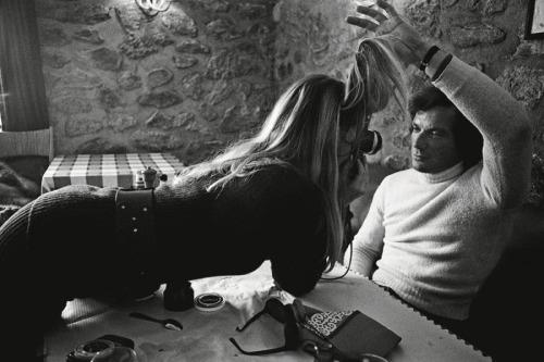 Brigitte Bardot & boyfriend Christian Kalt, 1970s