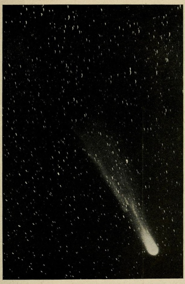 Halley's Comet, June 6, 1910.  Science and the seventh seas.  1945. Via
