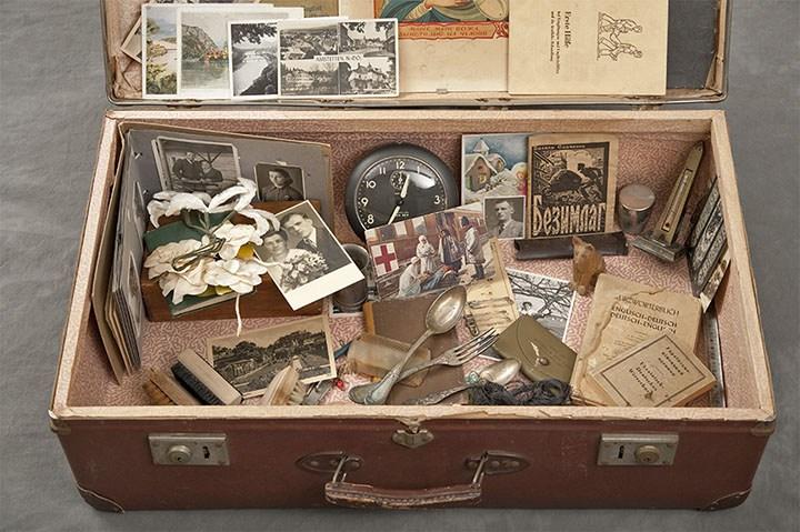 Willard Asylum Suitcases...©2012 Jon Crispin.ALL RIGHTS RESERVED..