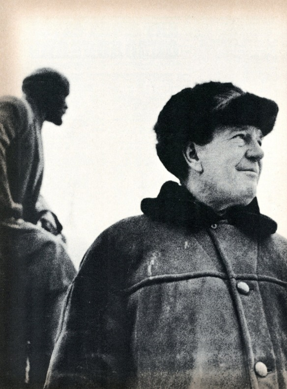 Kim Philby in Moscow. Photo: Marie Claire/Paris Match.