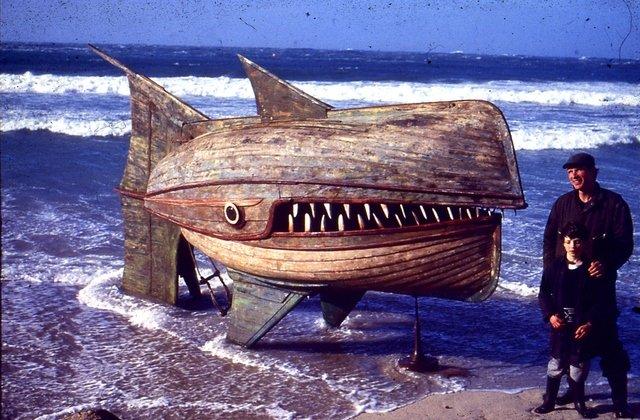 """""""Wooden Whaler"""" - David Kemp"""